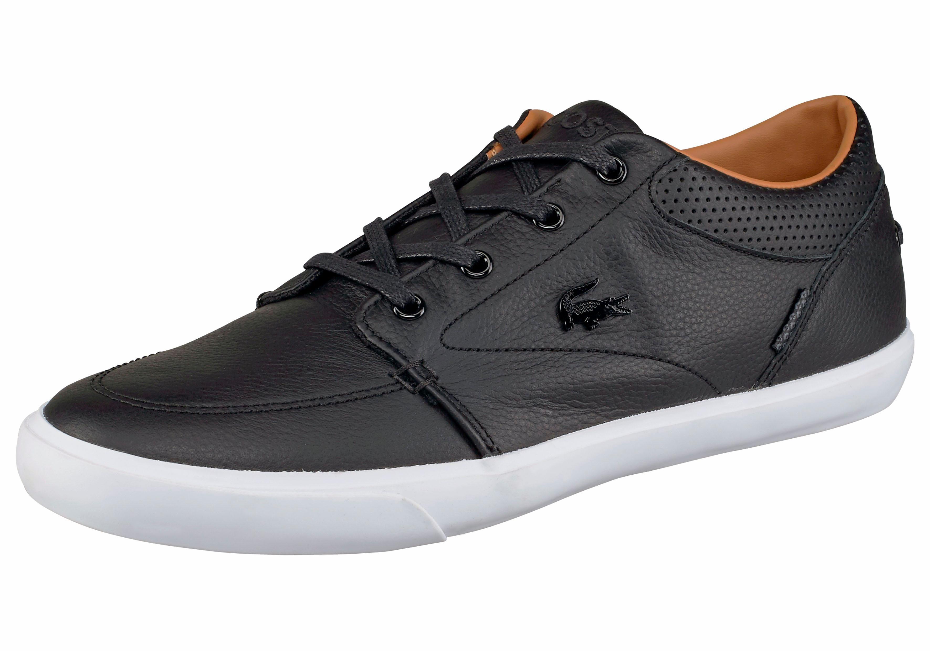 Chaussures Lacoste Noir À 46,5 Pour Les Hommes
