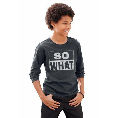ARIZONA Shirt met lange mouwen voor jongens