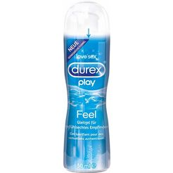 durex glijgel 'play feel' wit