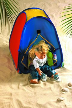 heless poppentent pop-up tent (1-delig) multicolor