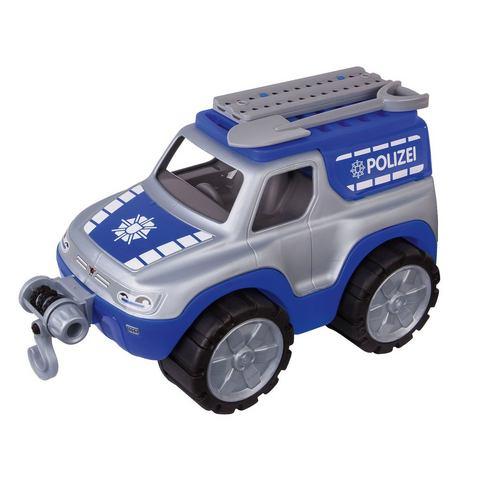 BIG speelgoedauto met lier, »BIG Power Worker Offroad politie«