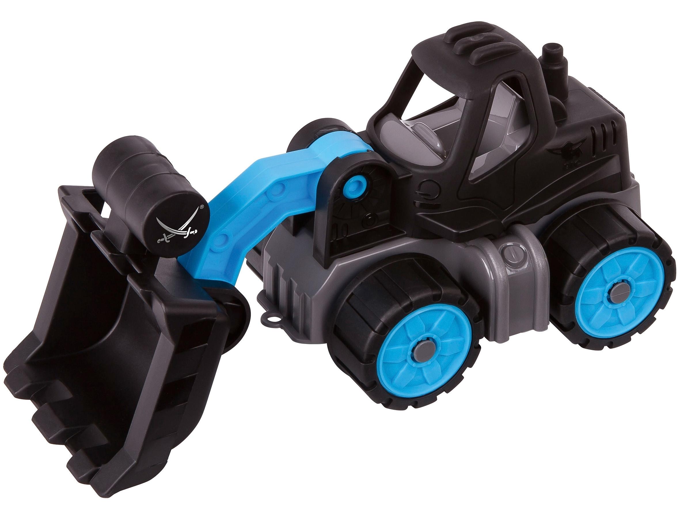 big speelgoedauto met beweegbare shovel big power worker mini laadschop op wielen sansibar. Black Bedroom Furniture Sets. Home Design Ideas