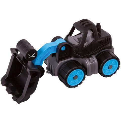 BIG speelgoedauto met beweegbare shovel, »BIG Power Worker mini-laadschop op wielen Sansibar«