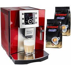 de'longhi »perfecta esam 5400.r« volautomatisch koffiezetapparaat rood