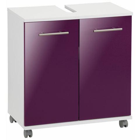 SCHILDMEYER kast Sellin paarse badkamer wastafelonderkast 45