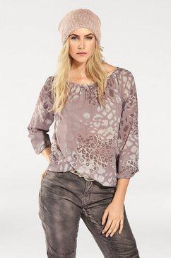 blouse zonder sluiting roze