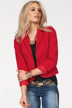 melrose blazer in getailleerde snit rood