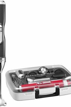® accu-staafmixer Artisan 5KHB3581EMS, met accessoirevak, 180 W, medallion-zilver