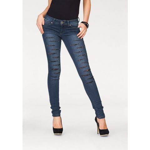 MELROSE Skinny-jeans met kant