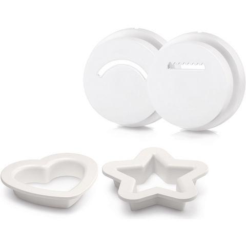 PHILIPS koekvormpjes HR2455-09 accessoires voor pastamaker