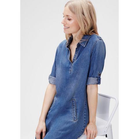 Picture s.Oliver Shirt dress in een denim look blauw 207439