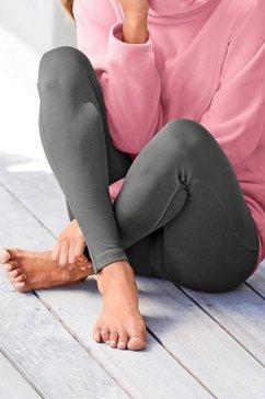 bench softe homewear legging met elastische band groen