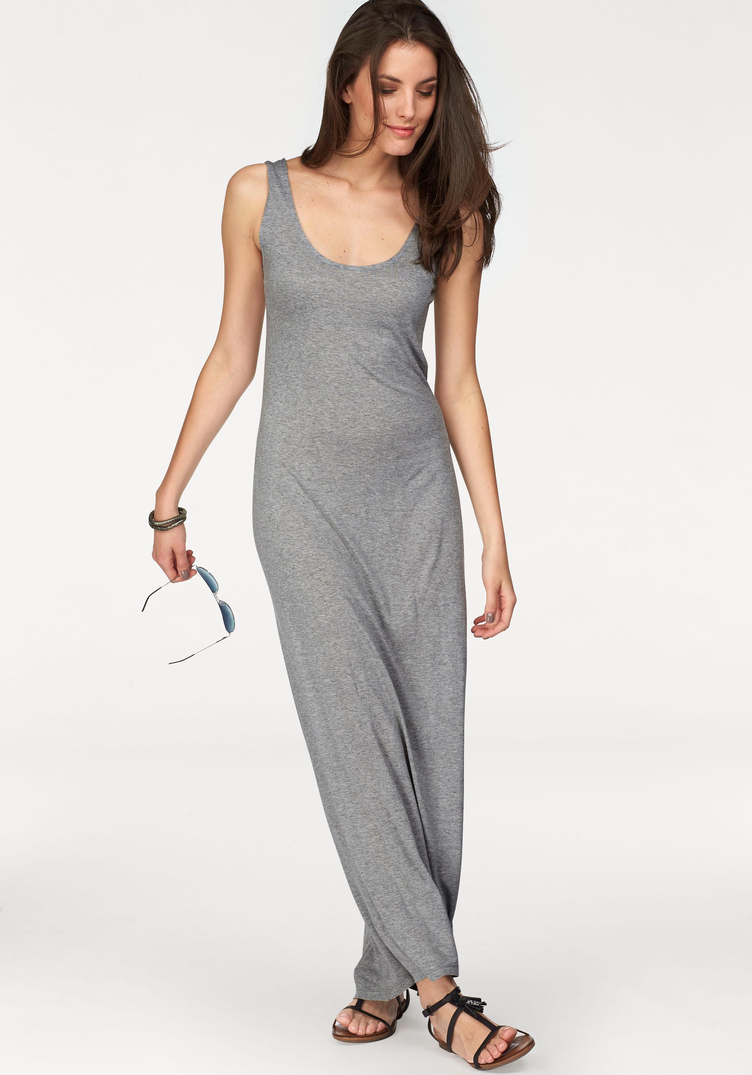 Aniston CASUAL ANISTON Maxi-jurk met brede bandjes goedkoop op otto.nl kopen