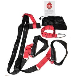 christopeit sport suspension-trainer, rood-zwart rood