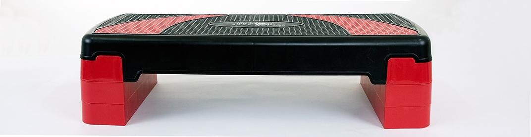 Christofeit Sport CHRISTOPEIT SPORT® aerobic-stepbankje, zwart/rood voordelig en veilig online kopen