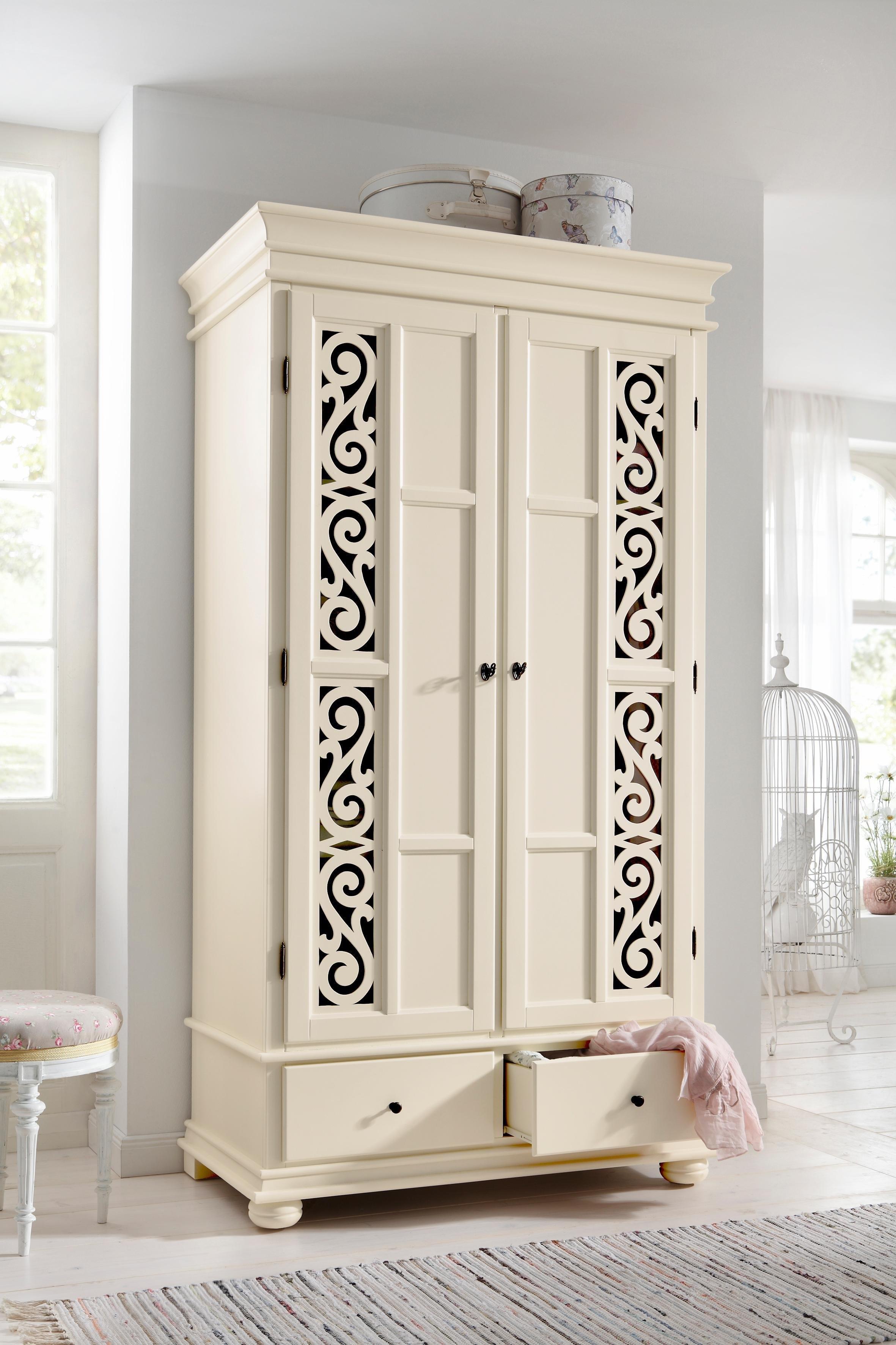 Premium collection by Home affaire Draaideurkast Arabeske van gedeeltelijk massief hout met mooie ornamenten op de deurfronten bij OTTO online kopen