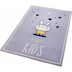 kindervloerkleed, smart kids, »conny«, handgetuft grijs