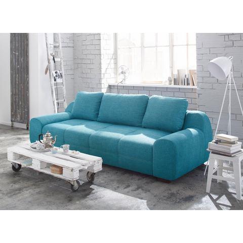 woonkamer extra groot bankstel groen HOME AFFAIRE megabank Banderas ook met slaapfunctie 92