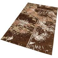 vloerkleed, astra, »teramo patchwork«, geweven bruin