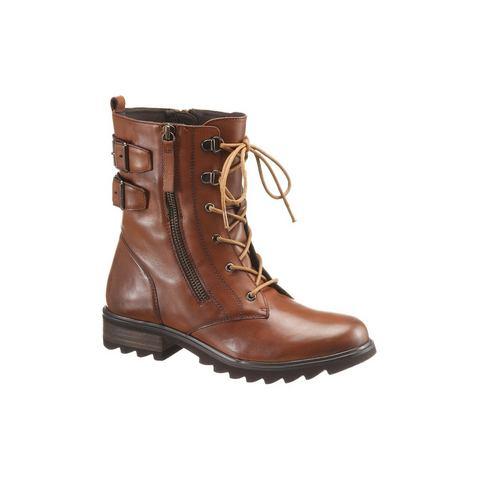 Dames schoen: SPM hoge veterschoenen