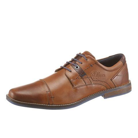 Heren schoen: S.OLIVER RED LABEL veterschoenen
