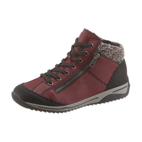Schoen: RIEKER hoge veterschoenen