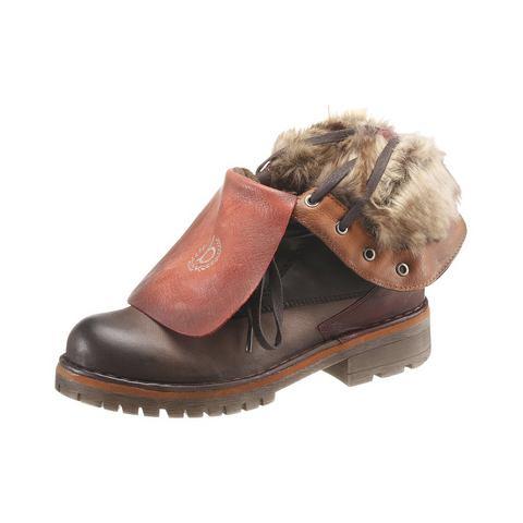 Schoen: BUGATTI hoge veterschoenen