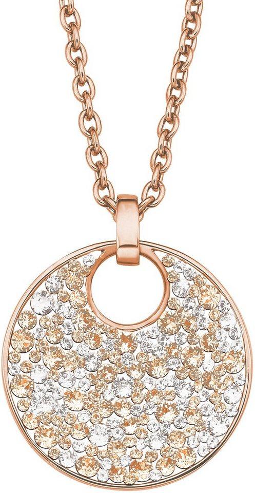 S.OLIVER ketting met hanger met Swarovski®-kristallen »SO1427/1«