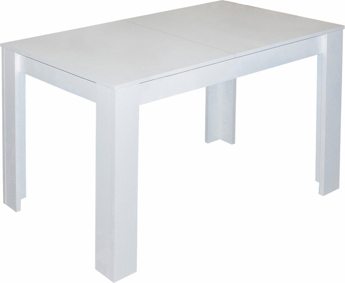 Eettafel, breedte 80x110x120 cm met lade