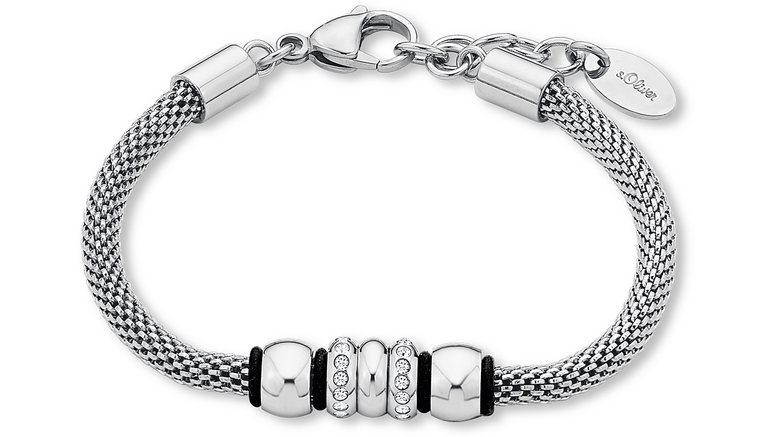 S.OLIVER armband met Swarovski®-kristallen, »SO1442/1«