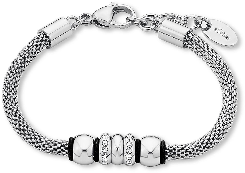 s.Oliver RED LABEL S.OLIVER armband met Swarovski®-kristallen, »SO1442/1« goedkoop op otto.nl kopen
