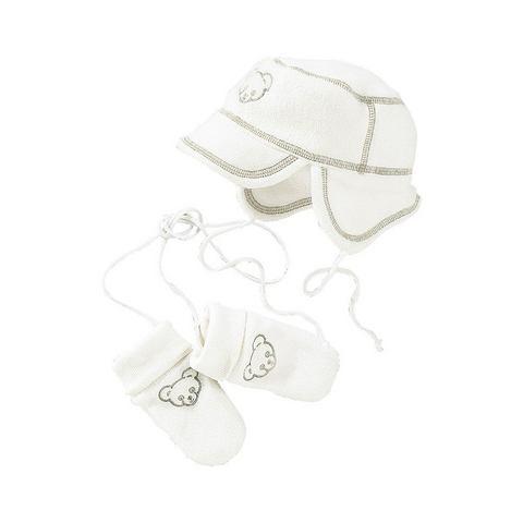 Babyworld muts en handschoenen, 2-delige fleeceset