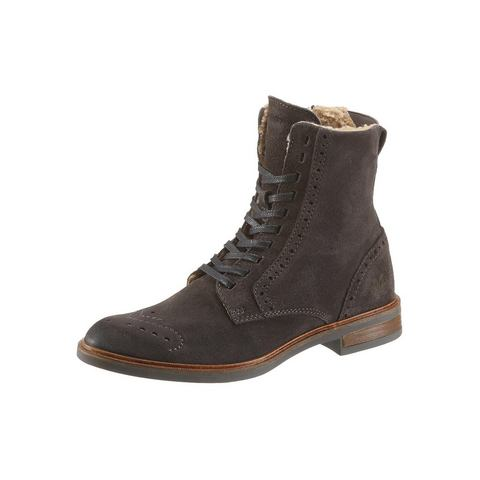 Dames schoen: MARC O'POLO hoge veterschoenen
