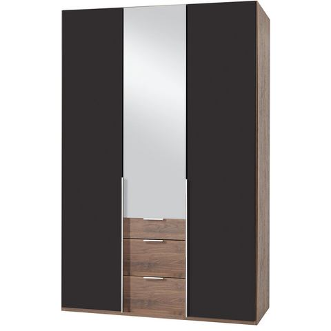 Kledingkasten Wimex garderobekast met spiegeldeuren en laden New York 337927