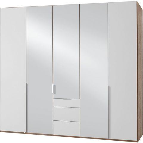 Kledingkasten Wimex garderobekast met spiegeldeuren en laden New York 383577