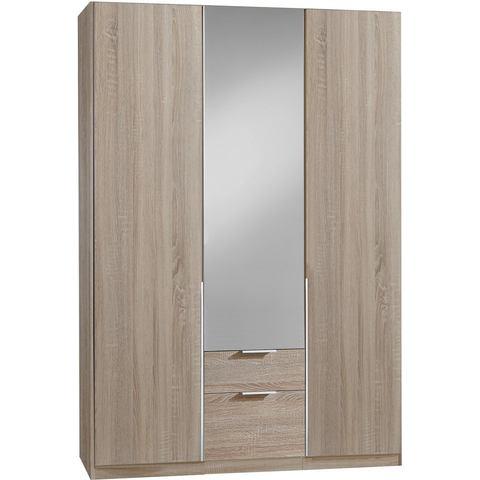 Kledingkasten Wimex garderobekast met spiegeldeuren en laden New York 407170