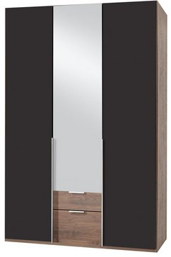 garderobekast met spiegeldeuren en laden »New York«