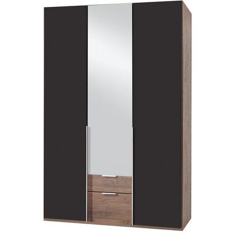 Kledingkasten Wimex garderobekast met spiegeldeuren en laden New York 496379