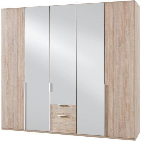 Kledingkasten Wimex garderobekast met spiegeldeuren en laden New York 497320