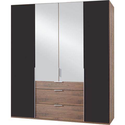 Kledingkasten Wimex garderobekast met spiegeldeuren en laden New York 514773