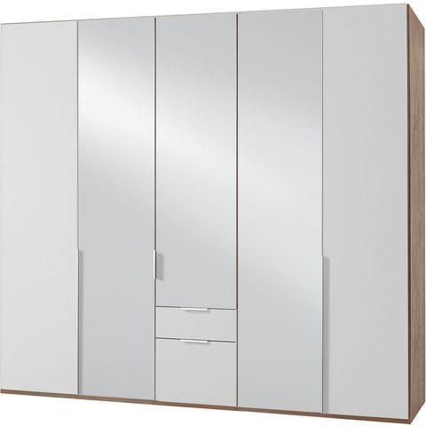 Kledingkasten Wimex garderobekast met spiegeldeuren en laden New York 649906
