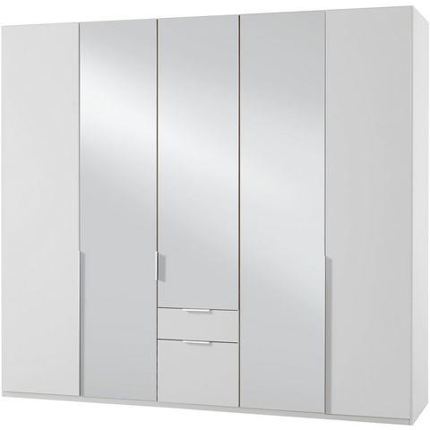 Kledingkasten Wimex garderobekast met spiegeldeuren en laden New York 743315