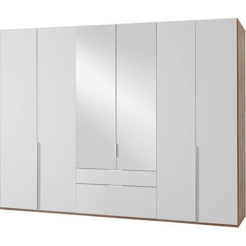Kledingkasten Wimex garderobekast met spiegeldeuren en laden New York 375371