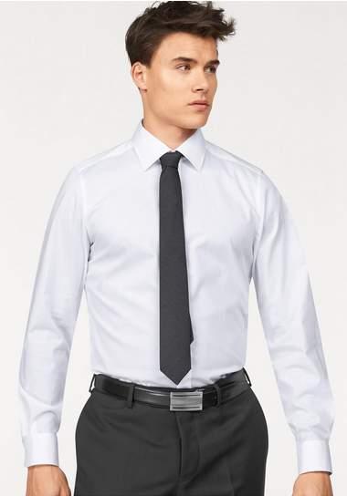 BRUNO BANANI Businessoverhemd met deelnaden achter