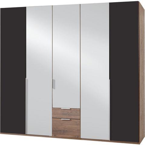 Kledingkasten Wimex garderobekast met spiegeldeuren en laden New York 214033
