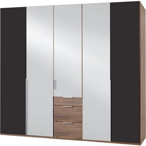 Kledingkasten Wimex garderobekast met spiegeldeuren en laden New York 235676