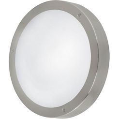 eglo, led-wandlamp voor buiten »vento1«, zilver