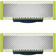 philips vervangende mesjes qp220-50 (set, 2 stuks) zilver
