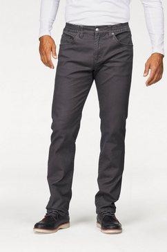 man's world broek met elastische band grijs