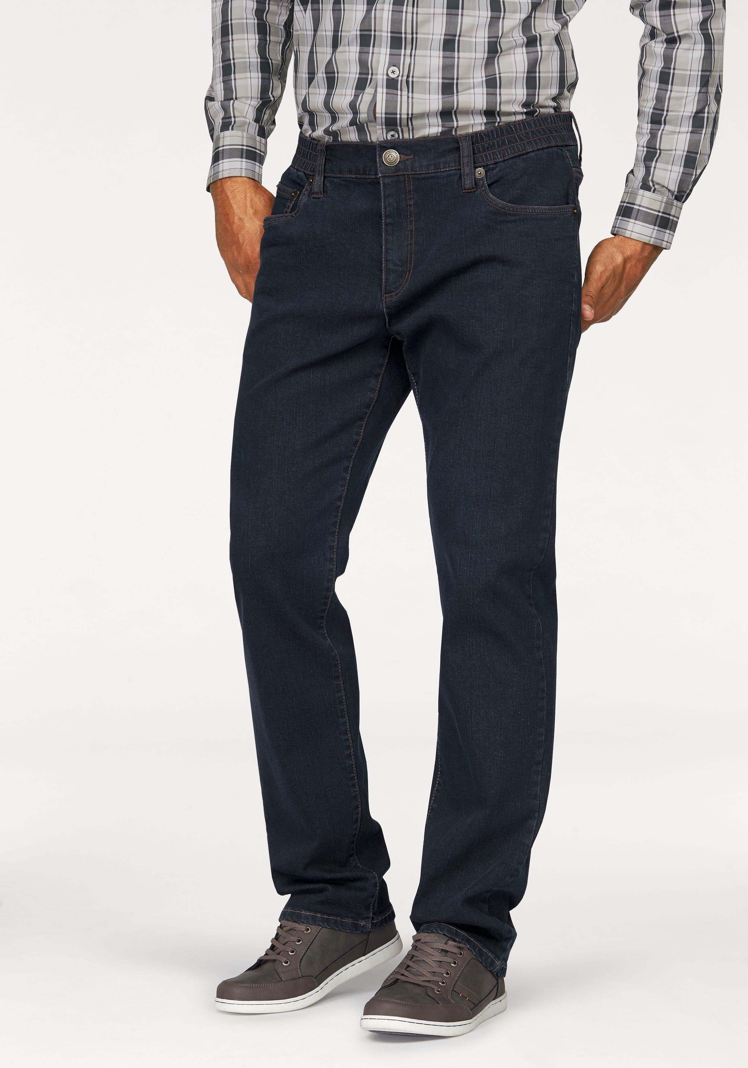 Man's World jeans met elastische band »stretch« - verschillende betaalmethodes